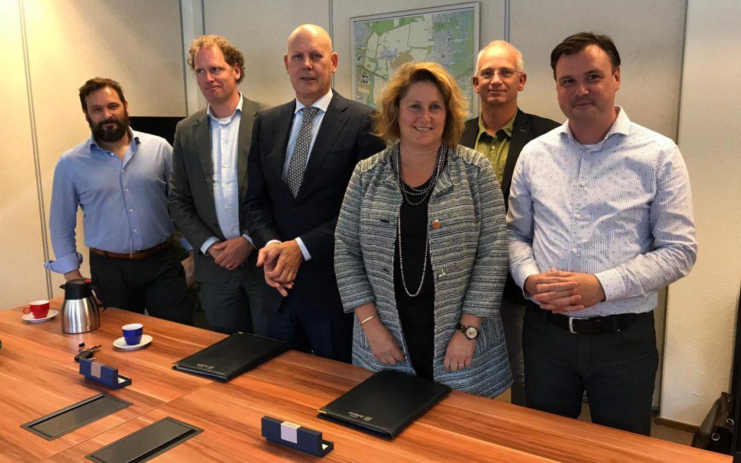 Anterieure overeenkomst Eendragtspolder ondertekend